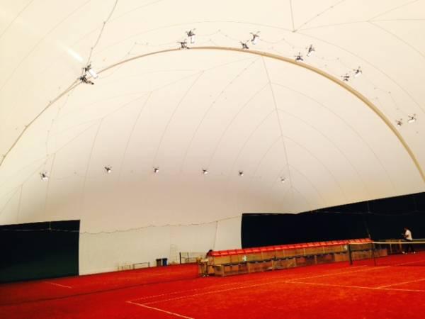 Il tennis club bisenzio e di nuovo al coperto